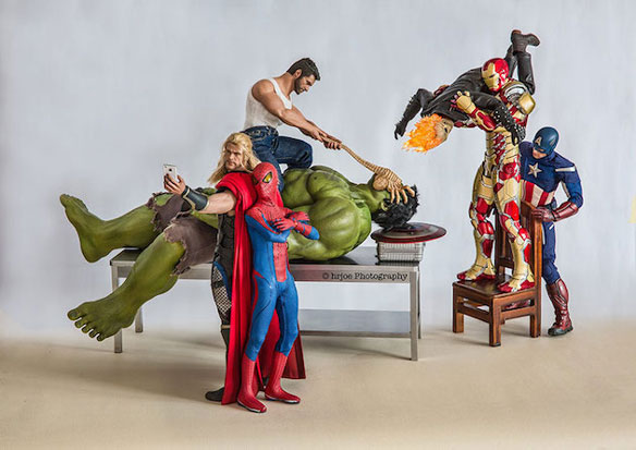 Superheroes x Hrjoe Photography
