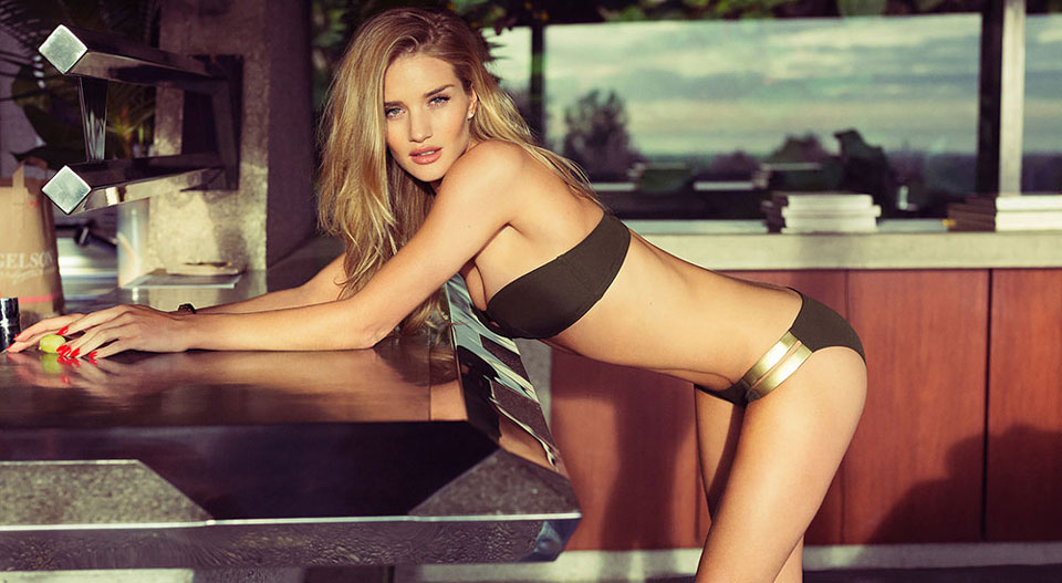 Rosie Huntington x Esquire UK