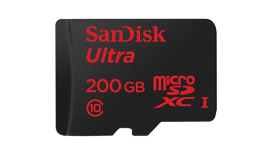 SanDisk Ultra MicroSD 200GB