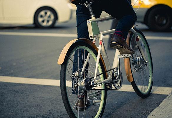 Bicicleta Electrica Faraday Porteur