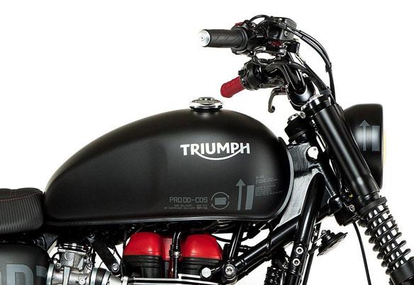 Triumph Boneville Venom